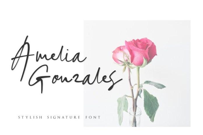 Sinta Mellia Handwritten Font