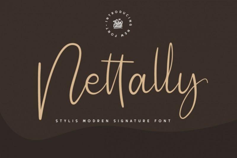 Nettally Font