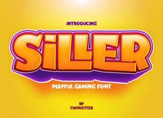 Siller Display Font