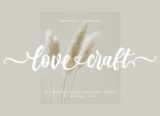 Love Craft Calligraphy Font