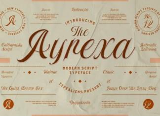Ayrexa Script Font