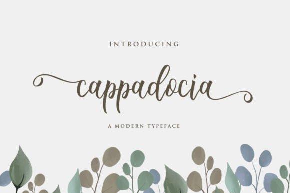 Cappadocia Script Font