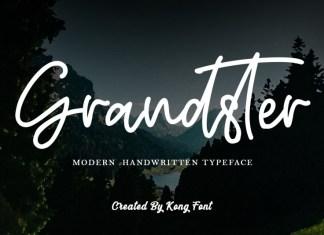 Grandster Handwritten Font