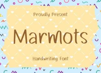 Marmots Display Font