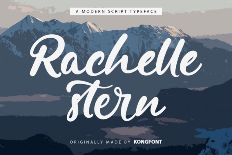 Rachelle Stern Script Font