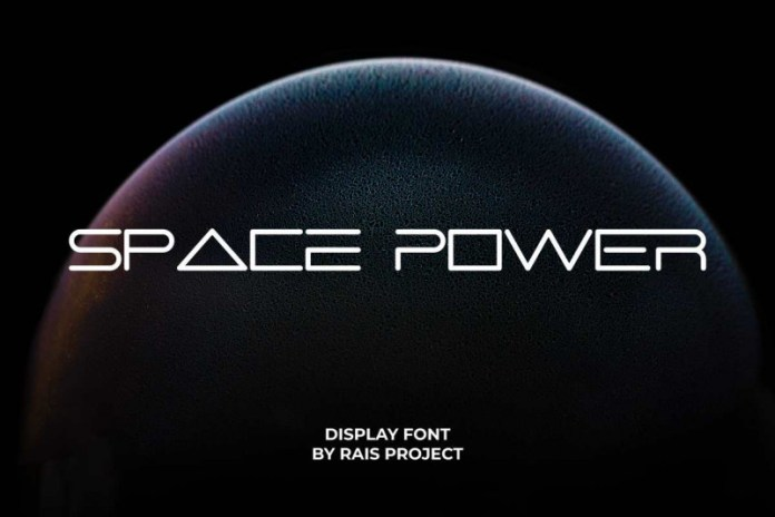 Space Power Display Font
