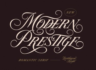Modern Prestige Serif Font