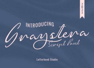 Graystera Script Font
