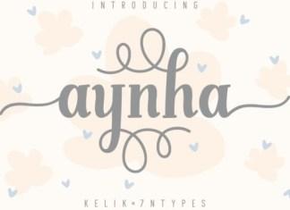 Aynha Display Font