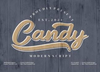 Candy Script Font