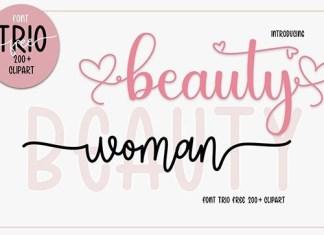 Beauty Calligraphy Font