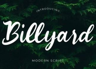 Billyard Script Font