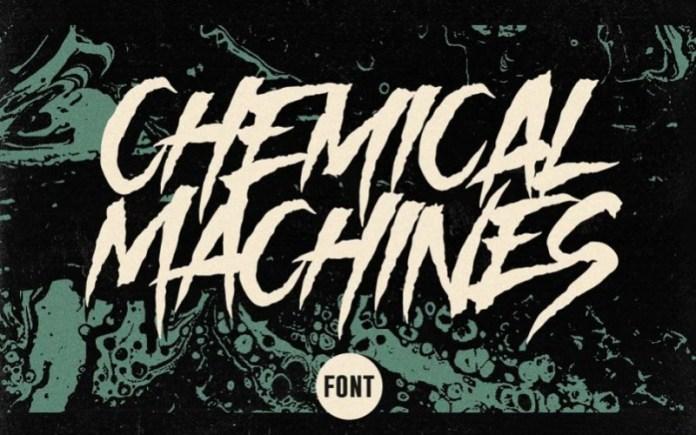 Chemical Machines Display Font