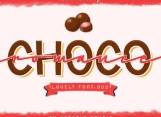 Choco Romance Font Duo
