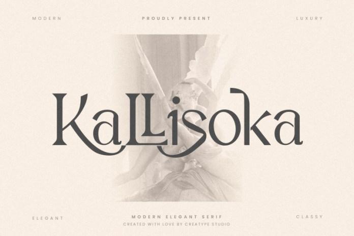 Kallisoka Serif Font