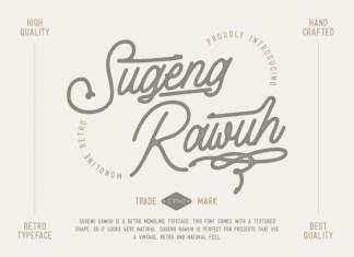Sugeng Rawuh Script Font