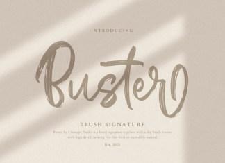 Buster Brush Font