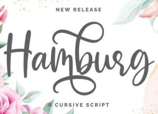 Hamburg Calligraphy Font