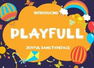 Playfull Display Font
