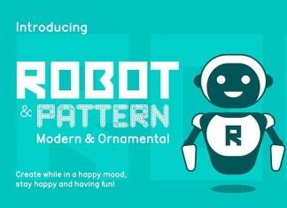 Robot Display Font