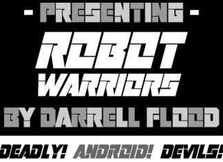 Robot Warriors Display Font