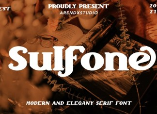 Sulfone Display Font