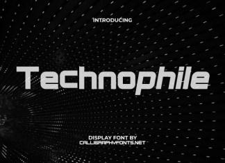 Technophile Sans Serif Font