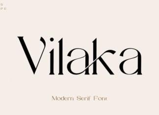Vilaka Serif Font