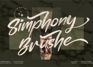 Simphony Brushe Brush Font
