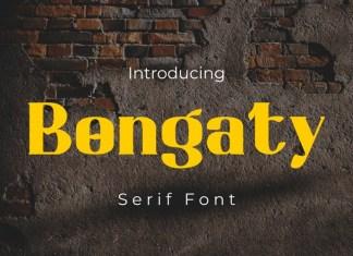 Bongaty Serif Font