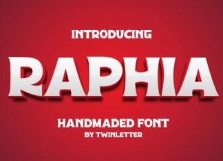 Raphia Display Font