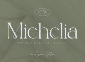 Michelia Serif Font