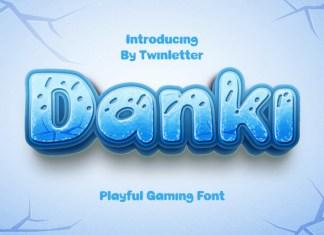 Danki Display Font