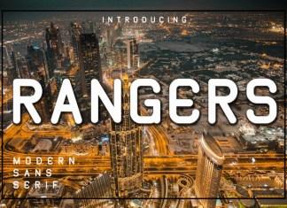 Rangers Display Font