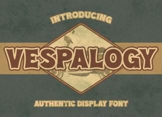 Vespalogy Display Font