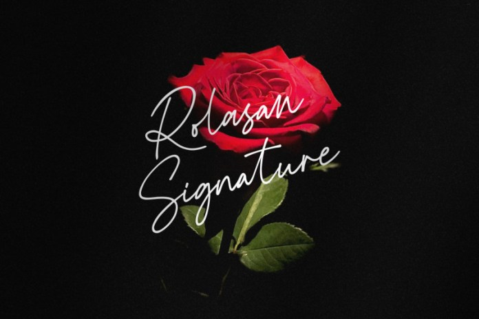 Rolasan Signature Script Font