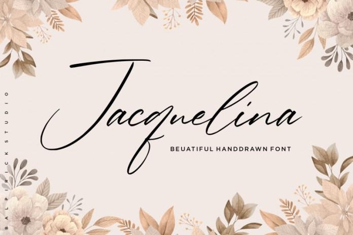 Jacquelina Script Font