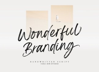 Wonderful Branding Font