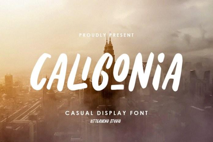 Caligonia Display Font