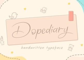 Dopediary Script Font