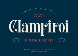 Clamfiroi Serif Font