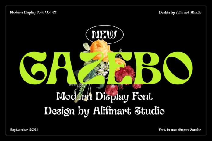 Guyon Gazebo Display Font