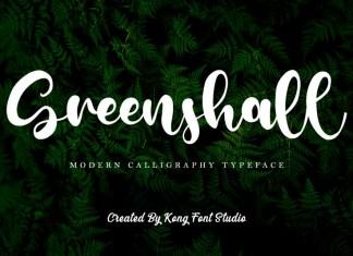 Greenshall Script Font