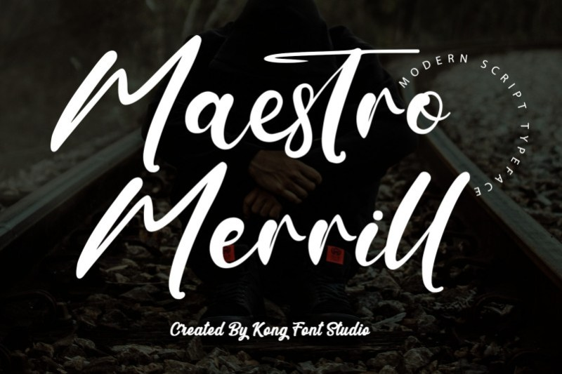 Maestro Merrill Script Font