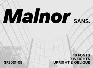 Malnor Sans Serif Font