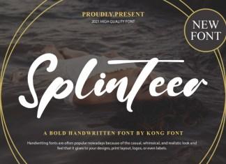 New Splinteer Script Font