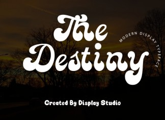 The Destiny Font