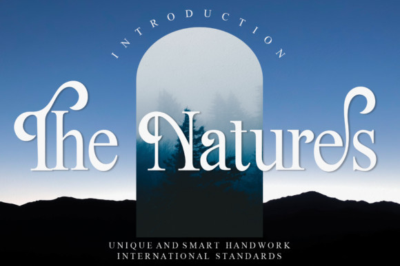 The Natures Serif Font