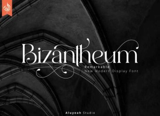 Bizantheum Serif Font