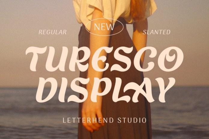 Turesco Display Font